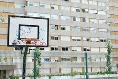 баскетбольная площадка Стоковая Фотография