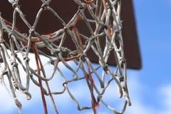 баскетбольная площадка Стоковые Изображения