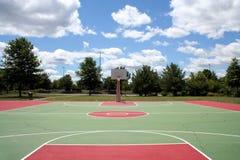 баскетбольная площадка Стоковое Фото