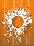 баскетбольная площадка Стоковое Изображение