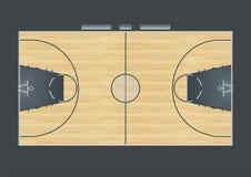 Баскетбольная площадка Стоковые Фото