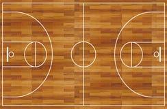 баскетбольная площадка Стоковое Изображение RF