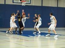 баскетбол действия Стоковые Фото