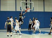баскетбол действия стоковая фотография