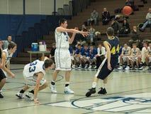 баскетбол действия Стоковое Фото