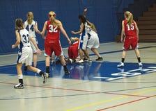 баскетбол действия Стоковое Изображение RF