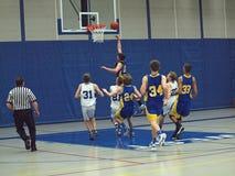 баскетбол действия Стоковые Изображения RF