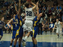 баскетбол действия Стоковое фото RF