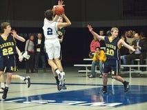 баскетбол действия Стоковые Изображения