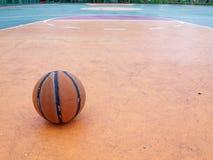 баскетбол шарика Стоковое Изображение RF