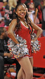 Баскетбол 2013 людей NCAA - чирлидер или танцор Стоковая Фотография RF