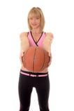Баскетбол девушки Blong Стоковая Фотография