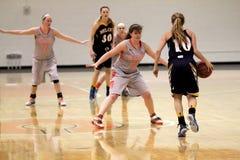 Баскетбол женщин NCAA Стоковая Фотография RF
