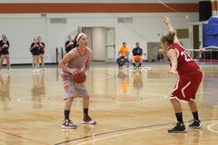 Баскетбол женщин NCAA Стоковые Фотографии RF