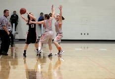 Баскетбол женщин NCAA Стоковое фото RF