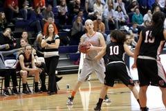 Баскетбол женщин NCAA Стоковые Изображения RF