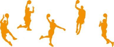 Баскетболисты Стоковая Фотография
