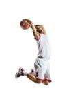 Баскетболист в действии стоковая фотография rf