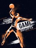 Баскетболист для концепции спорт Стоковая Фотография RF