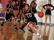 Баскетбол средней школы Стоковая Фотография