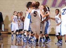 Баскетбол средней школы Стоковые Фото