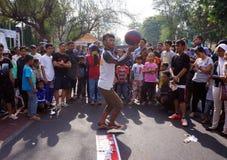 Баскетбол фристайла Стоковая Фотография RF