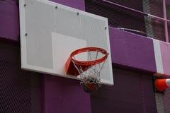 Баскетбол цели концепции достигая Стоковые Фото