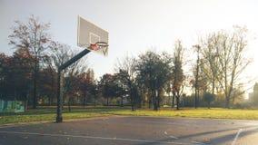 баскетбольная площадка если иллюстрация Стоковое Фото