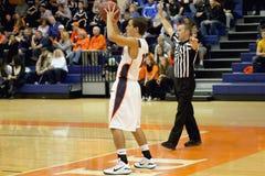 Баскетбол людей NCAA Стоковые Изображения