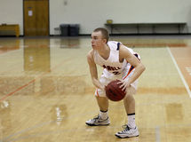 Баскетбол людей NCAA стоковые фотографии rf