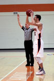 Баскетбол людей NCAA Стоковое Фото