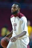 2014 баскетбол NCAA - действие игры виска Towson @ Стоковая Фотография