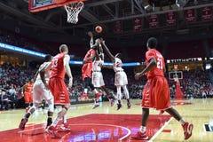 2016 баскетбол NCAA - Хьюстон на виске стоковое фото rf