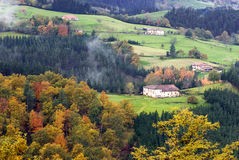 баскская сторона страны Стоковое Фото
