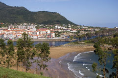 баскская страна lekeitio Стоковая Фотография RF