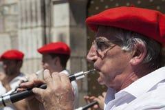 Баскские музыканты Стоковые Изображения RF