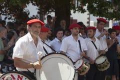 Баскские музыканты Стоковые Фото
