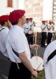 Баскские музыканты Стоковая Фотография RF