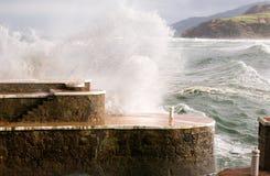 баскский шторм страны свободного полета стоковые фото
