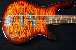 басовая гитара тела Стоковое Фото