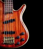 Басовая гитара Стоковые Изображения RF