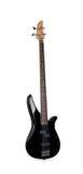 басовая черная гитара Стоковые Изображения