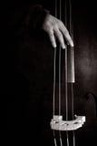 басовый двойной вектор транспарантов игрока иллюстрации градиентов Стоковые Изображения RF