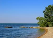 басовый восточный пункт острова южный стоковое фото rf