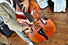 басовый играть Стоковое Изображение RF