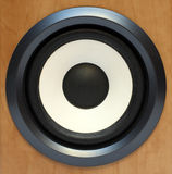 басовый круглый ядровый диктор Стоковое Изображение