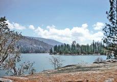 Басовый пункт Wishon озера стоковое изображение