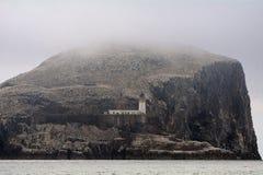 Басовый утес, Шотландия Стоковые Фотографии RF