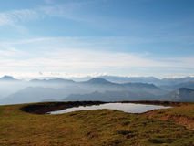 бассеин горы Стоковые Фотографии RF