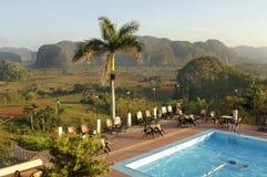 бассеин гостиницы Кубы Стоковые Изображения